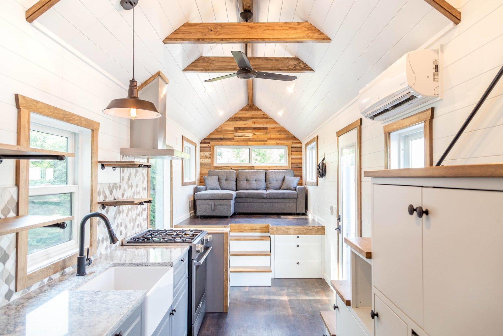 Liberation Tiny Homes Stoltzfus Farmhouse kitchen