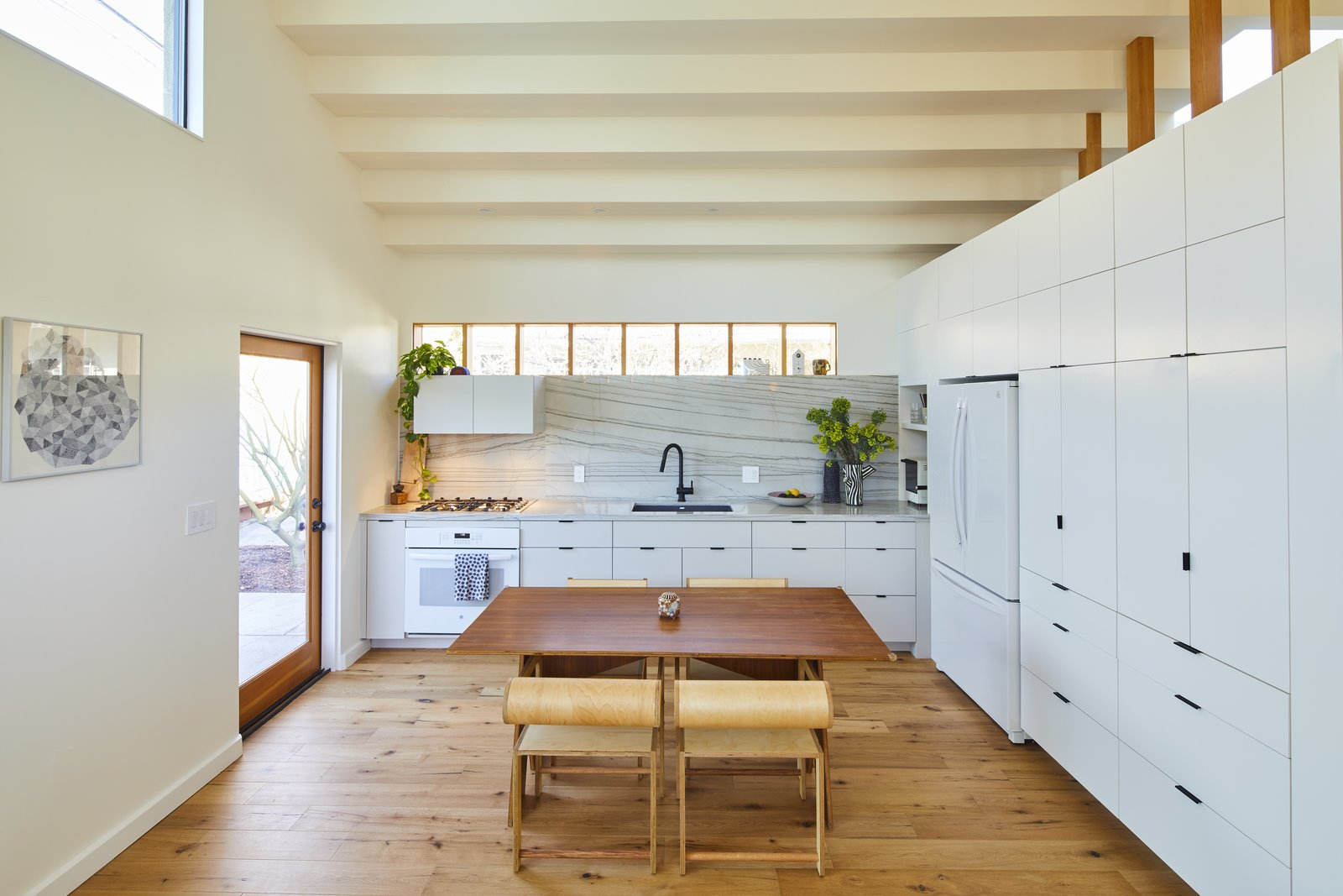 Highland Park ADU by Bunch Design dining room and kitchen