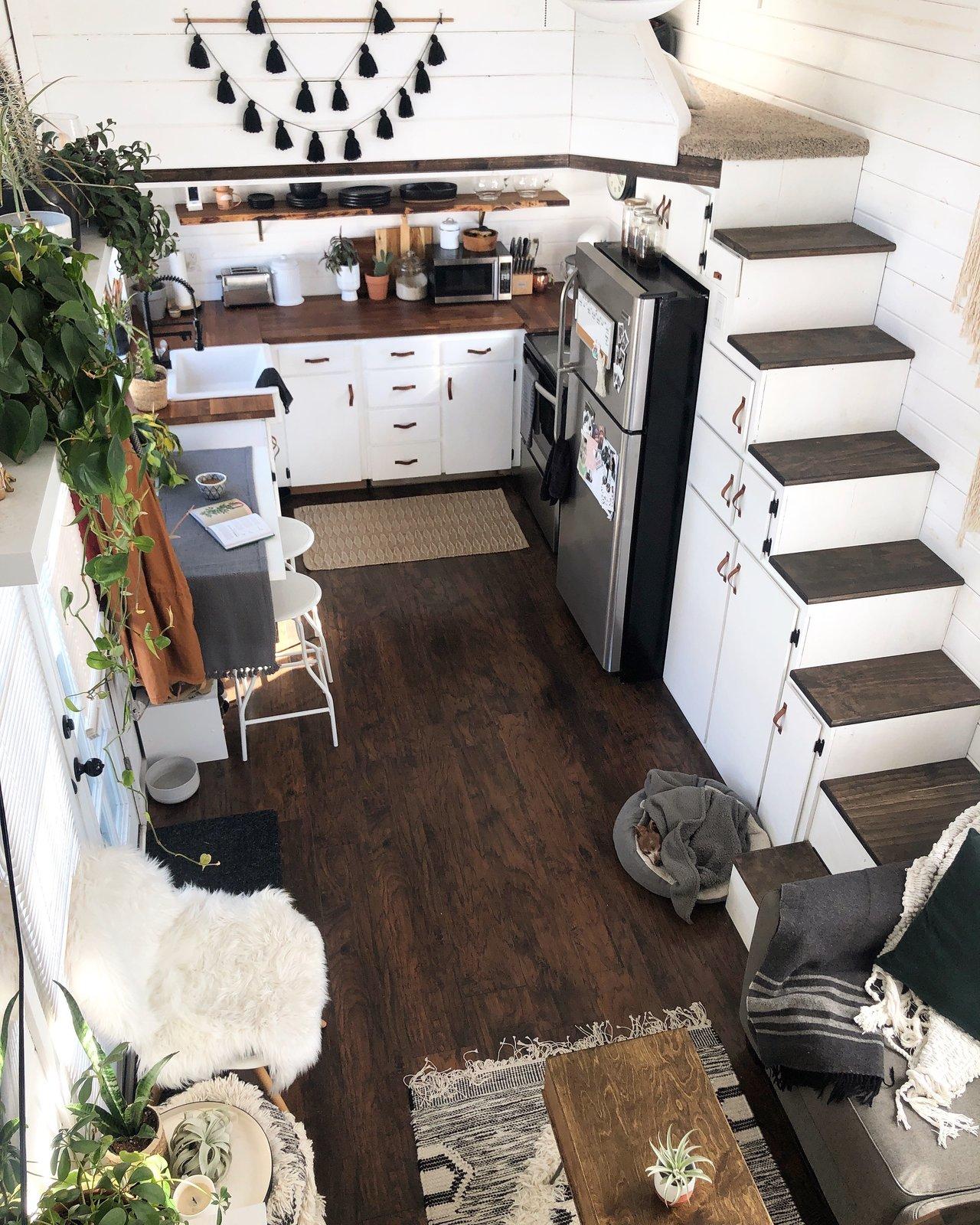 Shaffer tiny home Portland kitchen