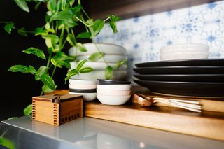 Ceramic dishware adds more texture and richness in the kitchen.