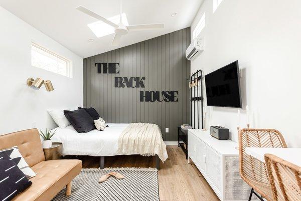 The husband-and-wife team behind Cedar & Oak Homes dream up a chic, multipurpose ADU.