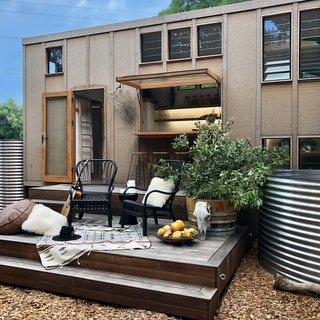 This 180-Square-Foot Tiny Home in Australia Is One Woman's Fresh Start