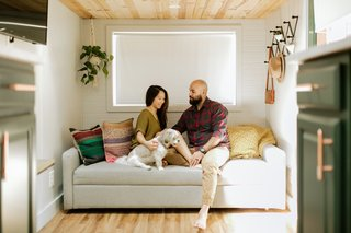 Budget Breakdown: Two Travel Therapists Build a Tiny Home-on-Wheels for $24K