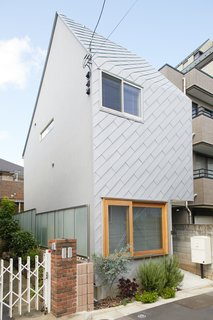 The form of the 556-square-foot home in Tokyo that Tomoko Sasaki designed for her close friends inspired the name Milk Carton House.