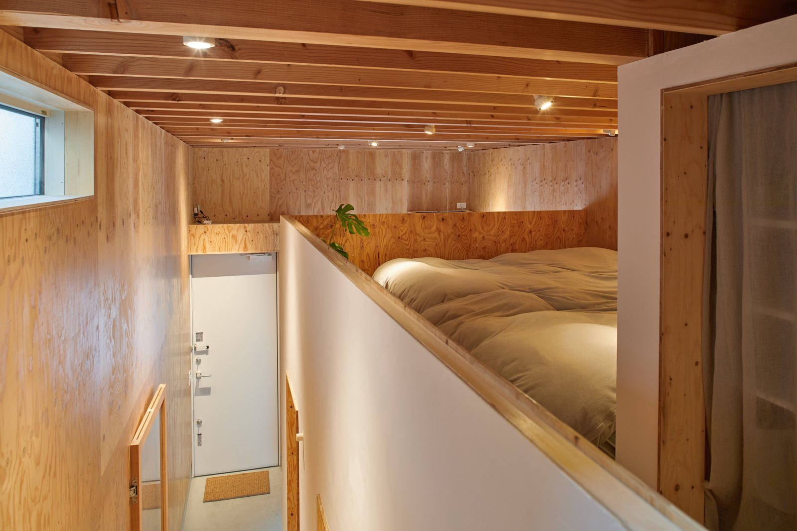 Milk Carton House Tenhachi Architect and Interior Design bedroom