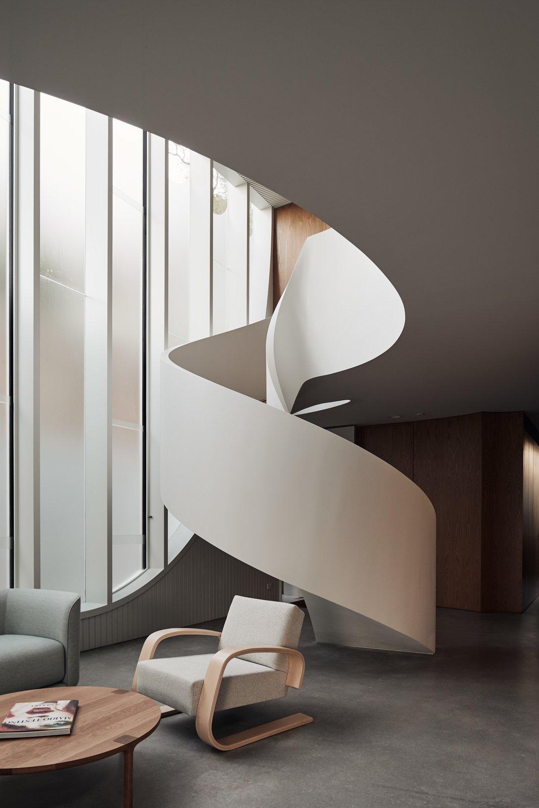 Glebe House staircase