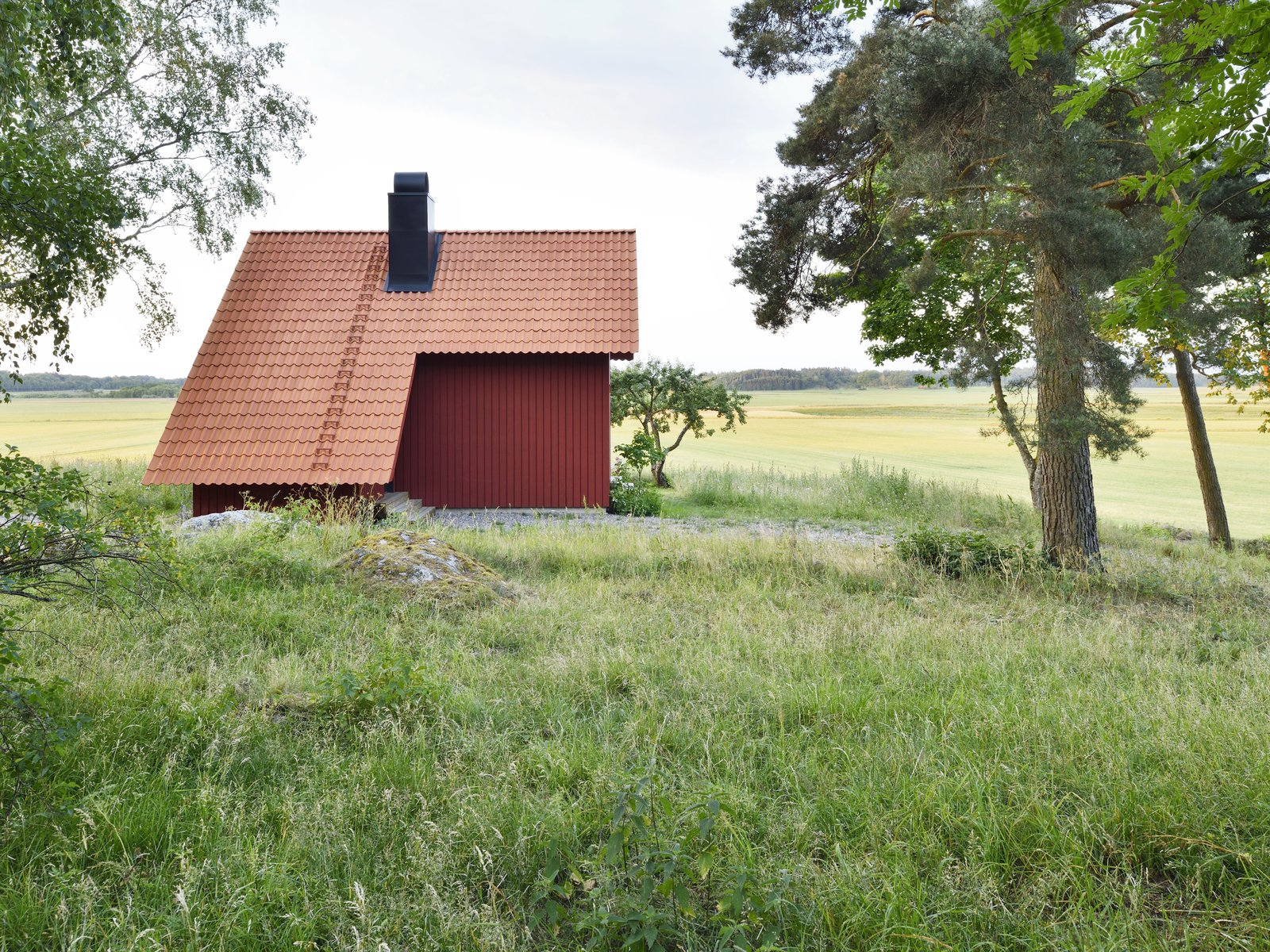 Bollbacken by Soderberg Soderberg peaked pantile roof