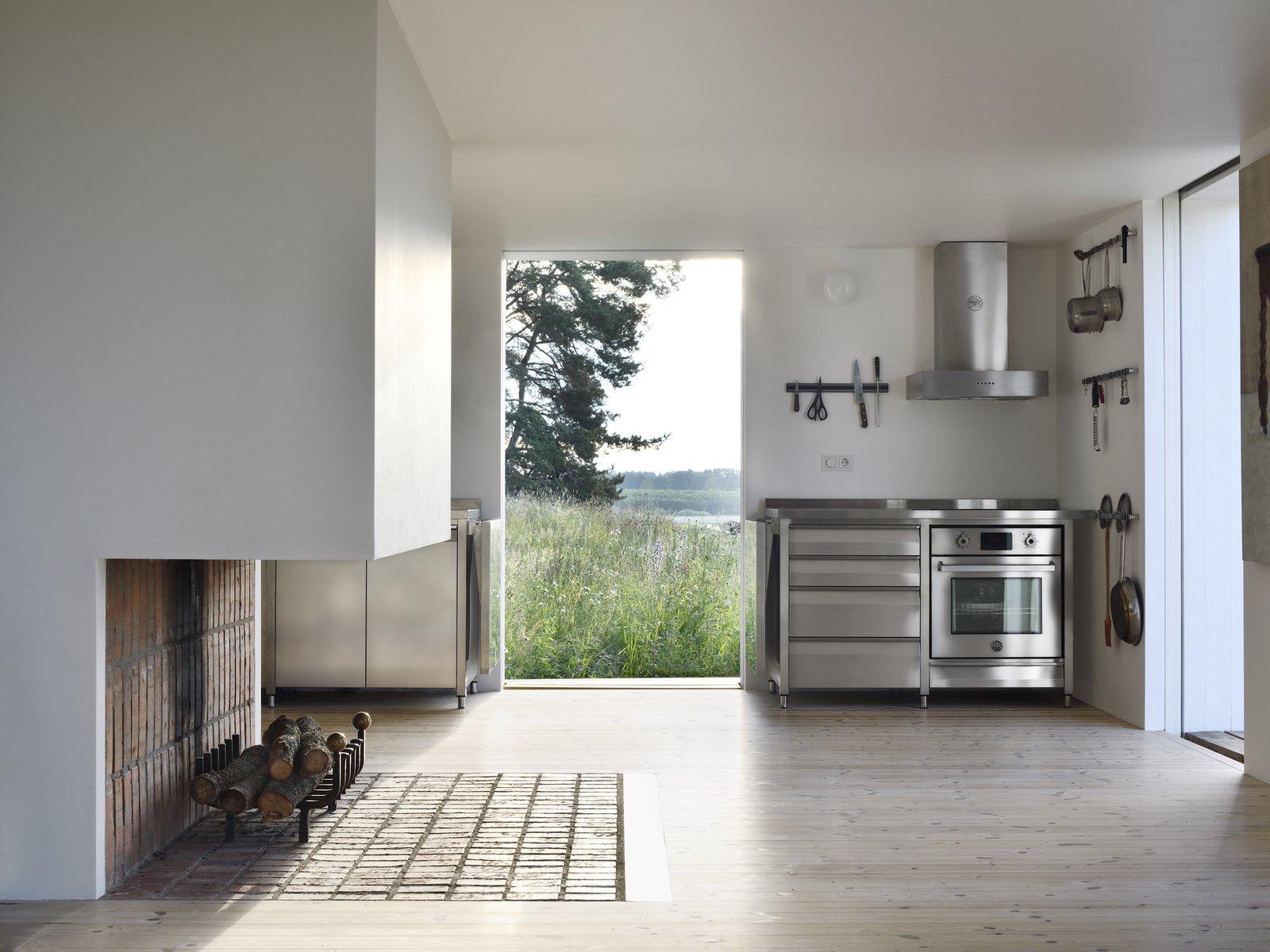 Bollbacken by Soderberg Soderberg fireplace and kitchen