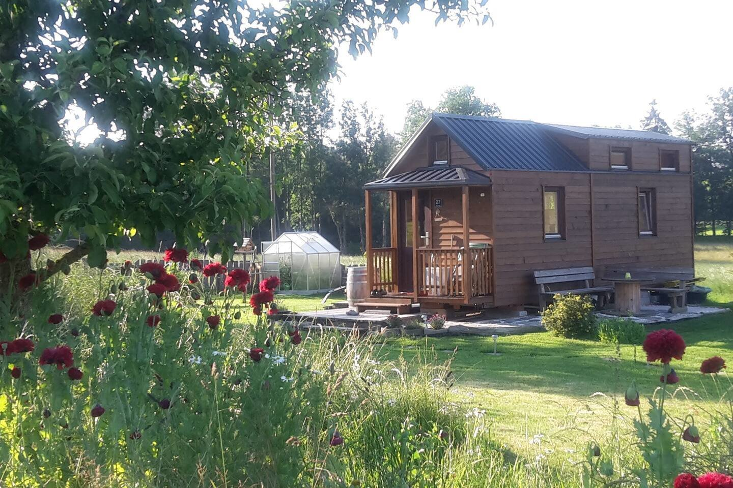 Grunen Tiny House is clad with wood on both the exterior and the interior.  Photo 11 of 24 in Check Out These 23 Tiny Houses Perfect for an Autumn Getaway
