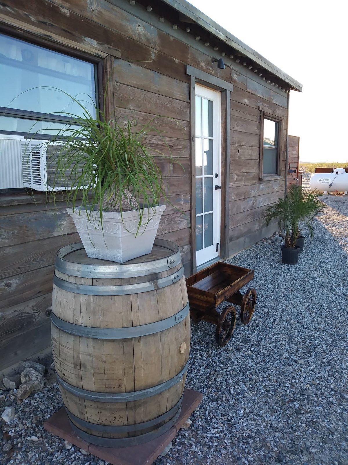 Located near Joshua Tree National Park, Cactus Jack has a homestead like quality and uses solar power and a generator.  Photo 19 of 24 in Check Out These 23 Tiny Houses Perfect for an Autumn Getaway
