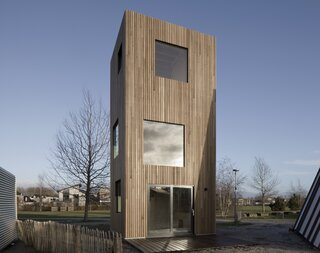 This Tall and Slender Micro Home Takes Up Less Land Than Two Cars