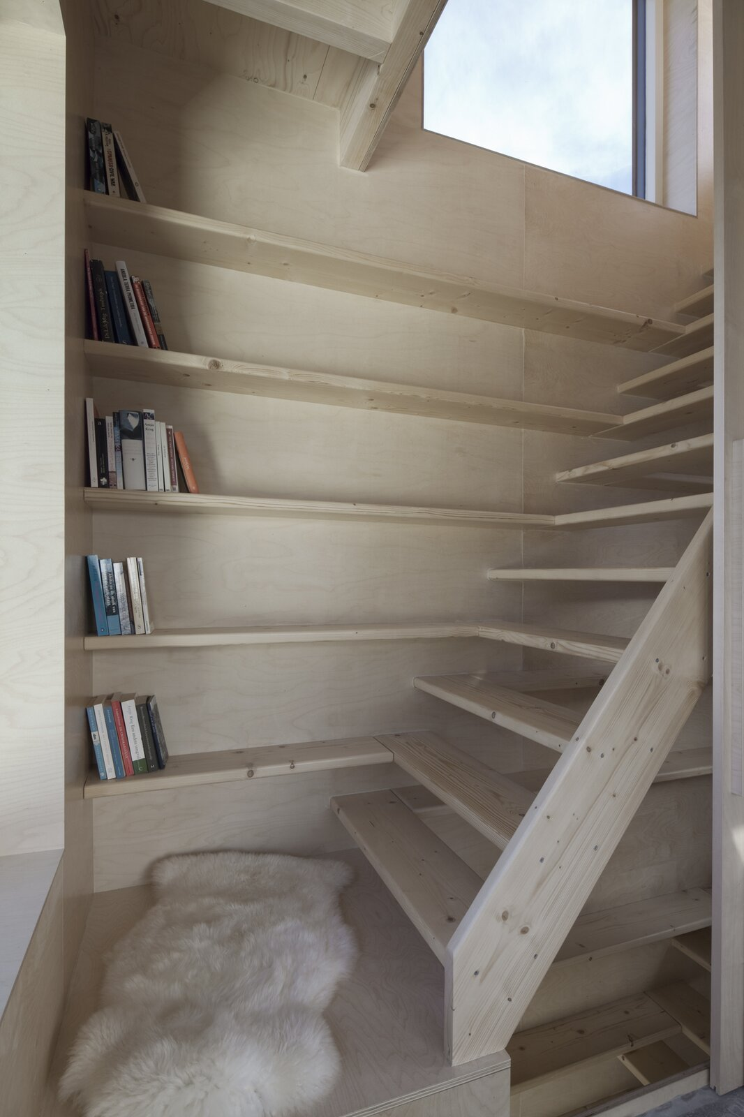 Micro House Slim Fit staircase