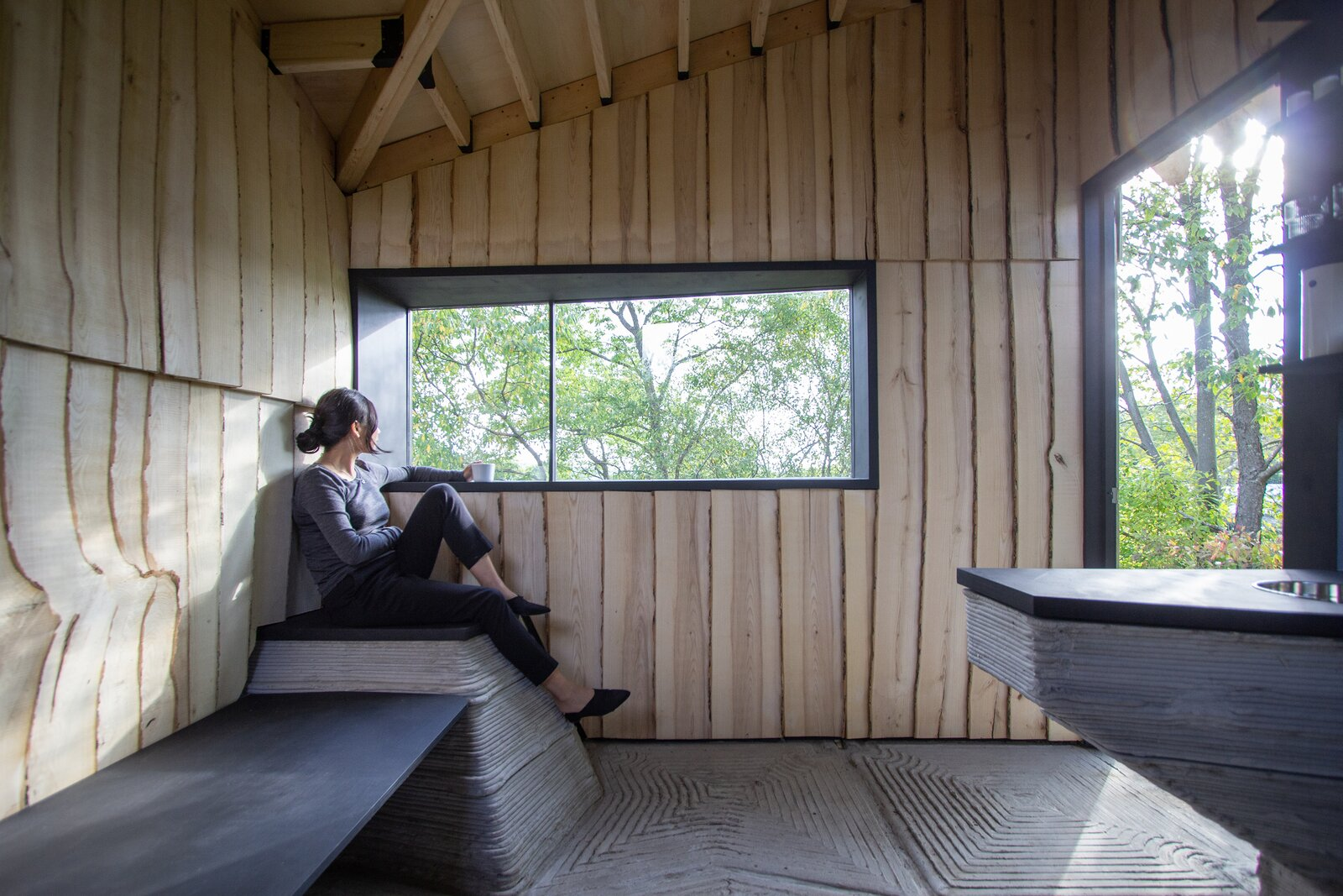 Ashen Cabin interior