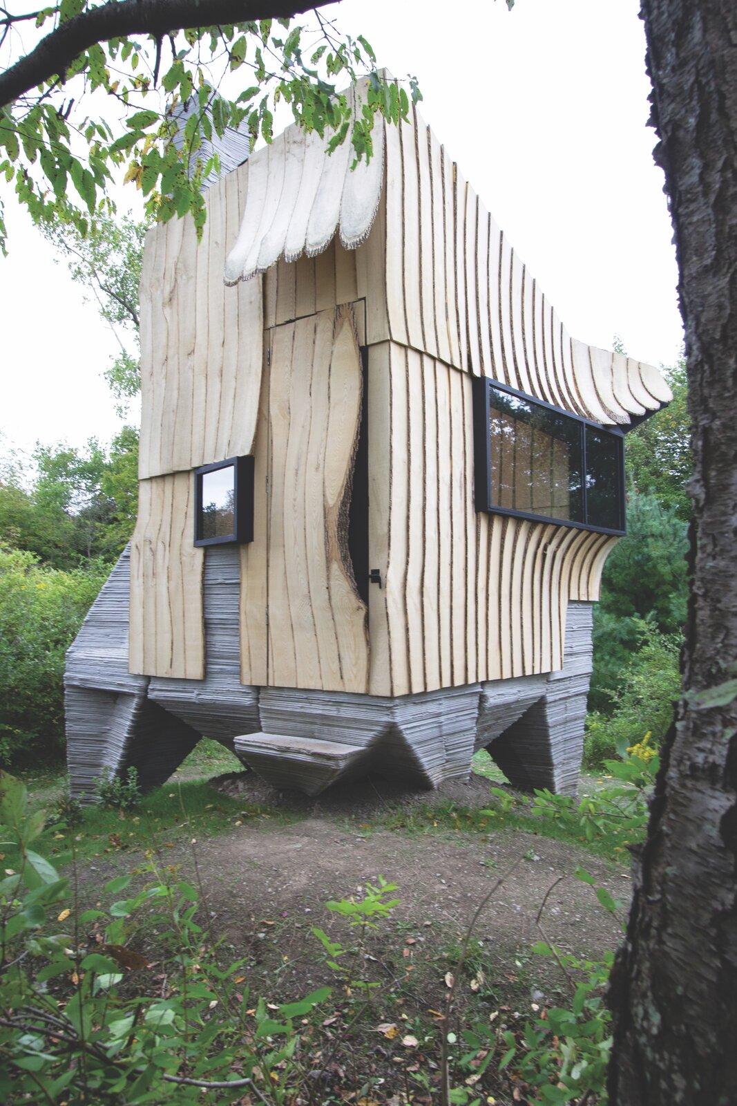 Ashen Cabin exterior