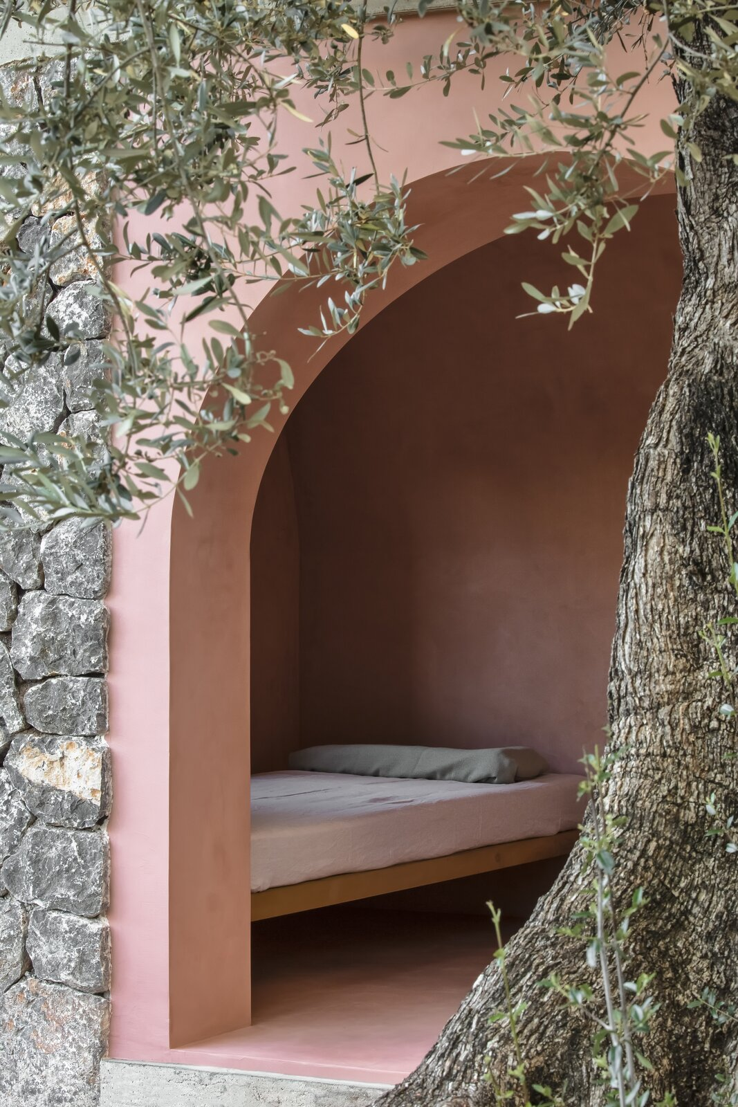 The Olive Houses bedroom