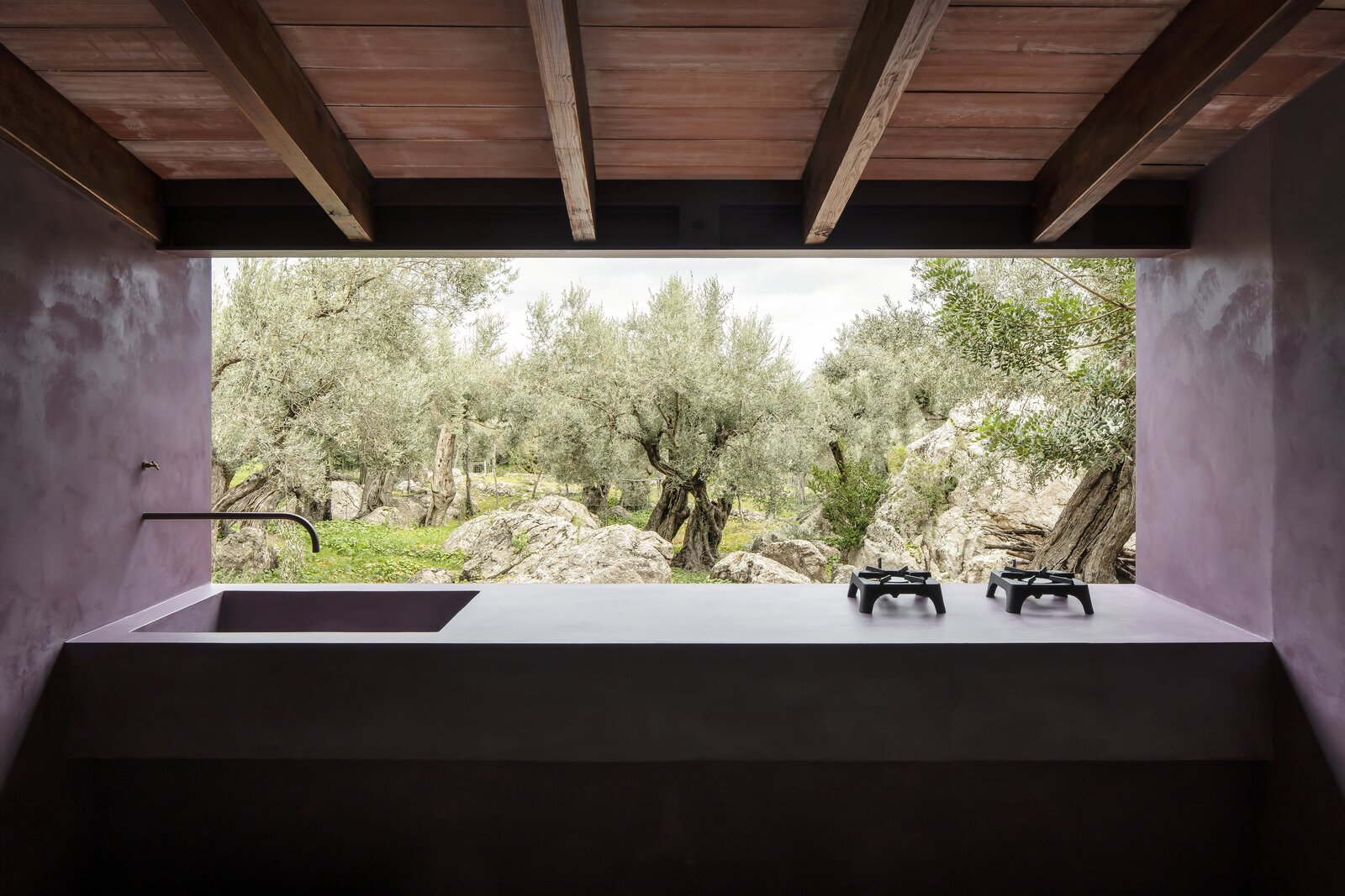 The Olive Houses kitchen