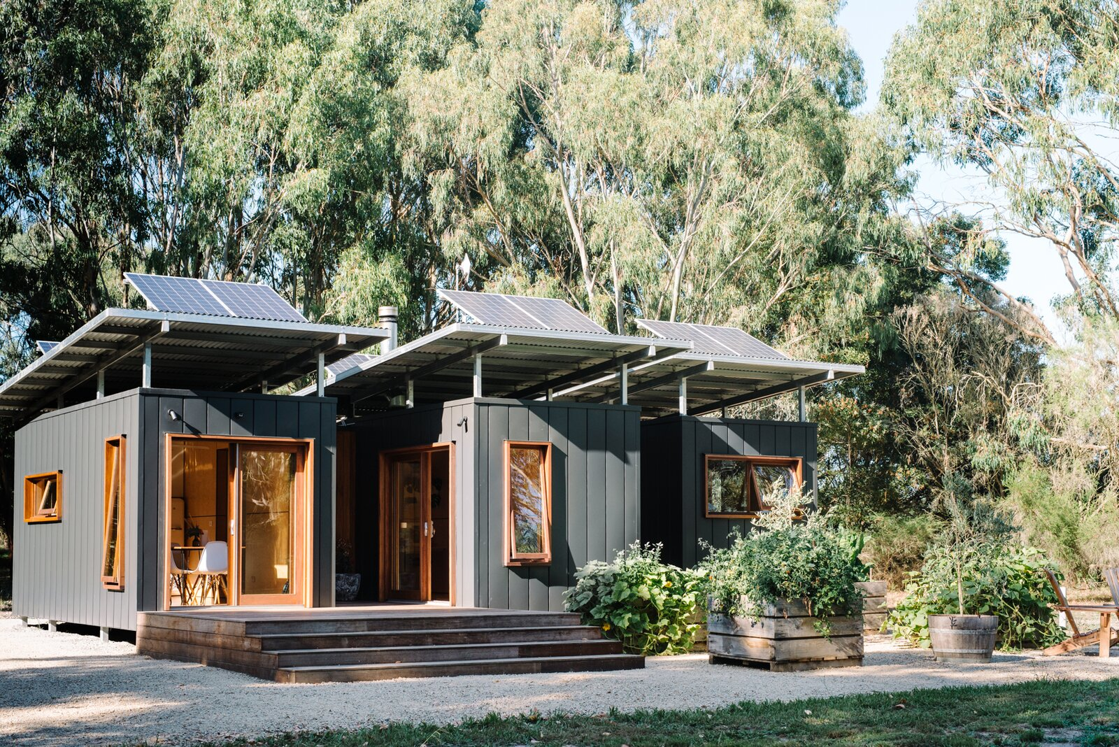 Wattle Bank shipping container tiny home