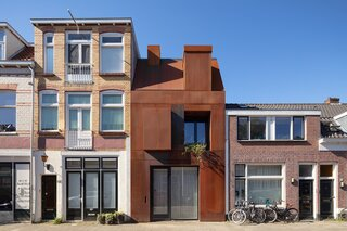 A Cor-Ten Steel Home Rocks Heavy Metal Vibes in the Netherlands