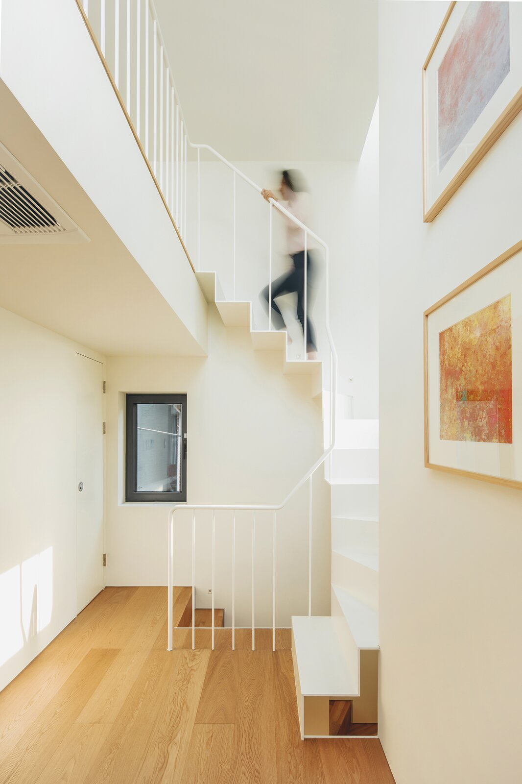 Tiny Second Home in Urban staircase