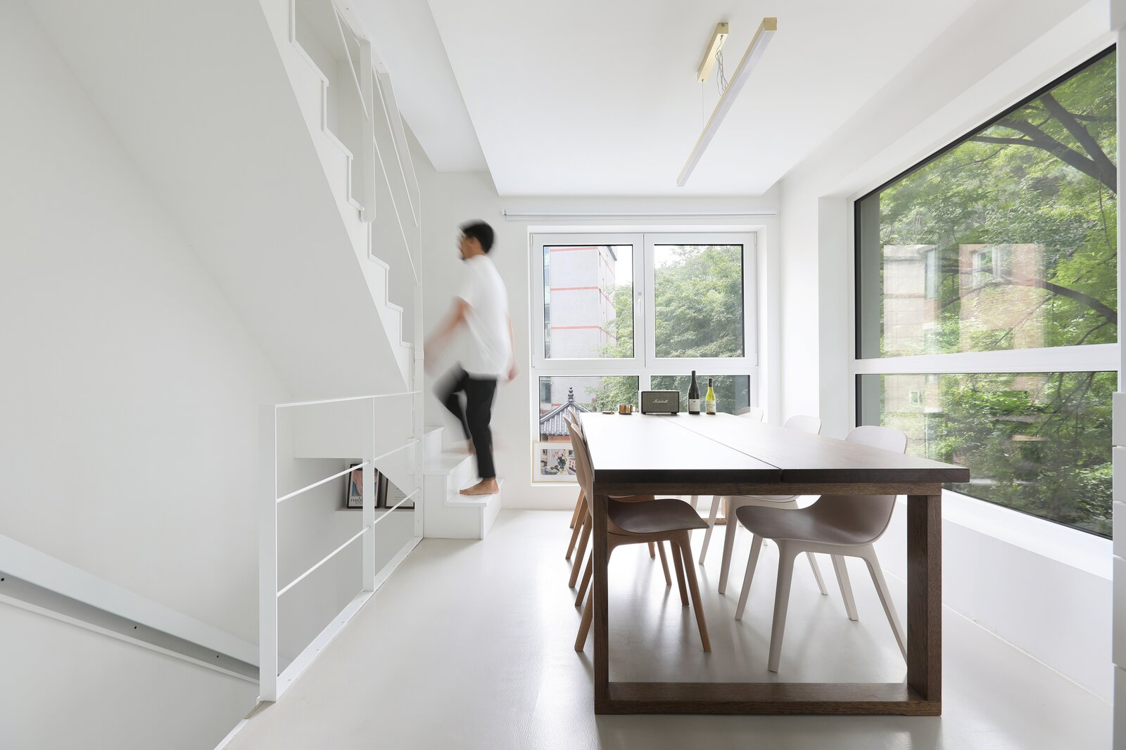 Seroro House by Smaller Architects dining room