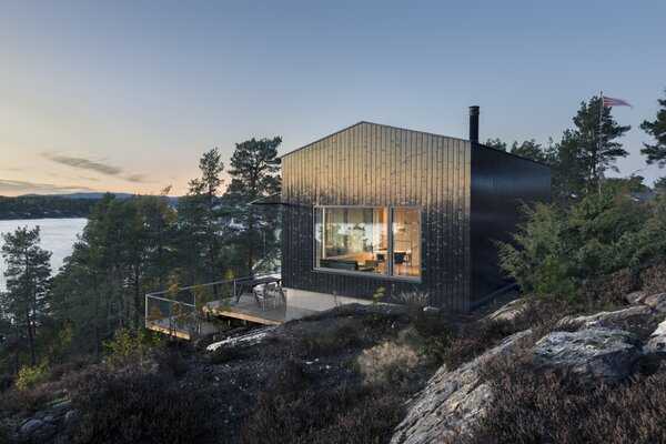 This 753-square-foot cabin by architect Jon Danielsen Aarhus is the getaway of our dreams.