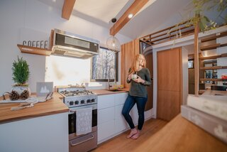 Connoisseurs of living tiny, Heather and Kevin Fritz started their own design-build business to offer truly custom solutions.