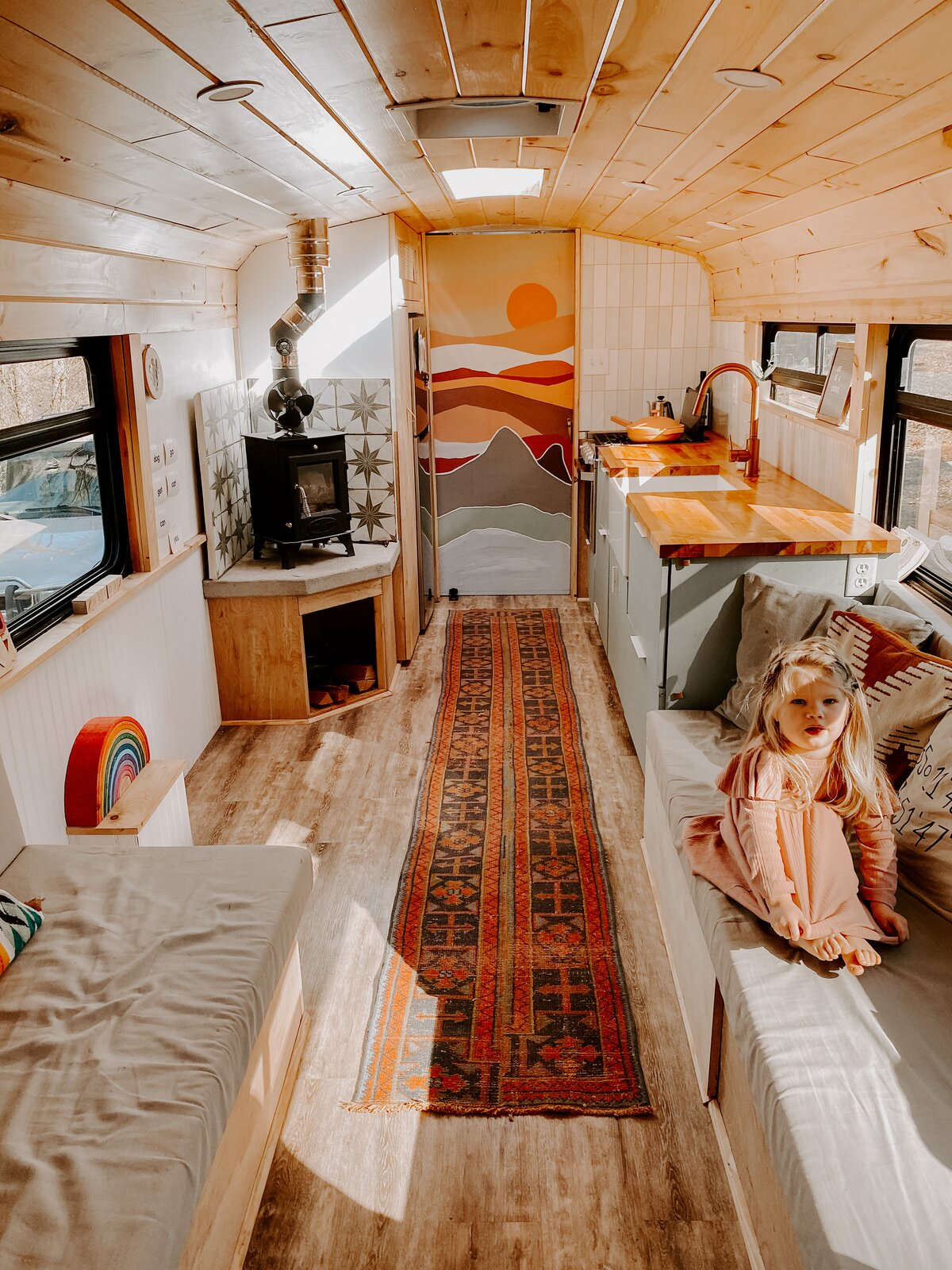 The Butter Bus living area