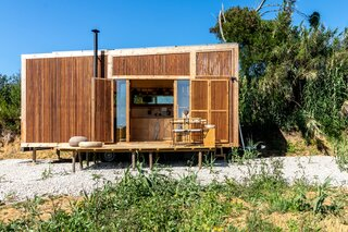 The Ursa Off-Grid Tiny Cabin Is as Sustainable as It Is Stylish