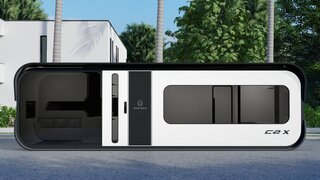 A New $98K Prefab Tiny Home Sports a Space-Age Aesthetic