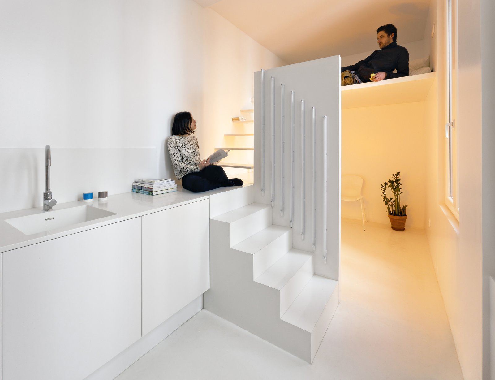 Appartement Spectral pp 24-25 Raphael Betillon Architects  Photo 1 of 15 in Gestalten's New Book Shows How to Transform Small Spaces Into Design Marvels