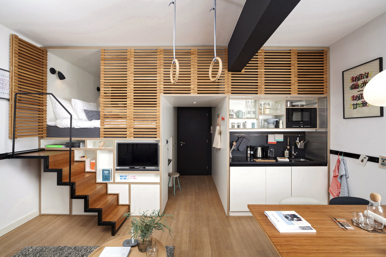 Concrete Amsterdam Zoku Loft p 15  Photo 14 of 15 in Gestalten's New Book Shows How to Transform Small Spaces Into Design Marvels