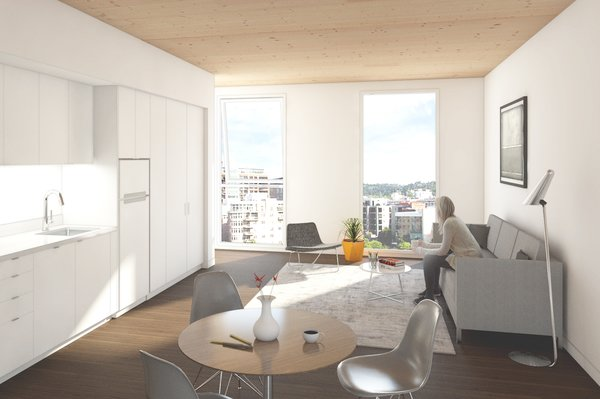 Affordable housing rendering, Framework.