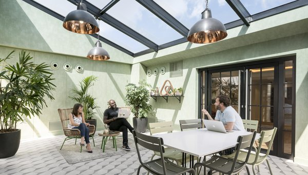Take a Peek Inside Airbnb's New Loft-Inspired Office Space in Paris