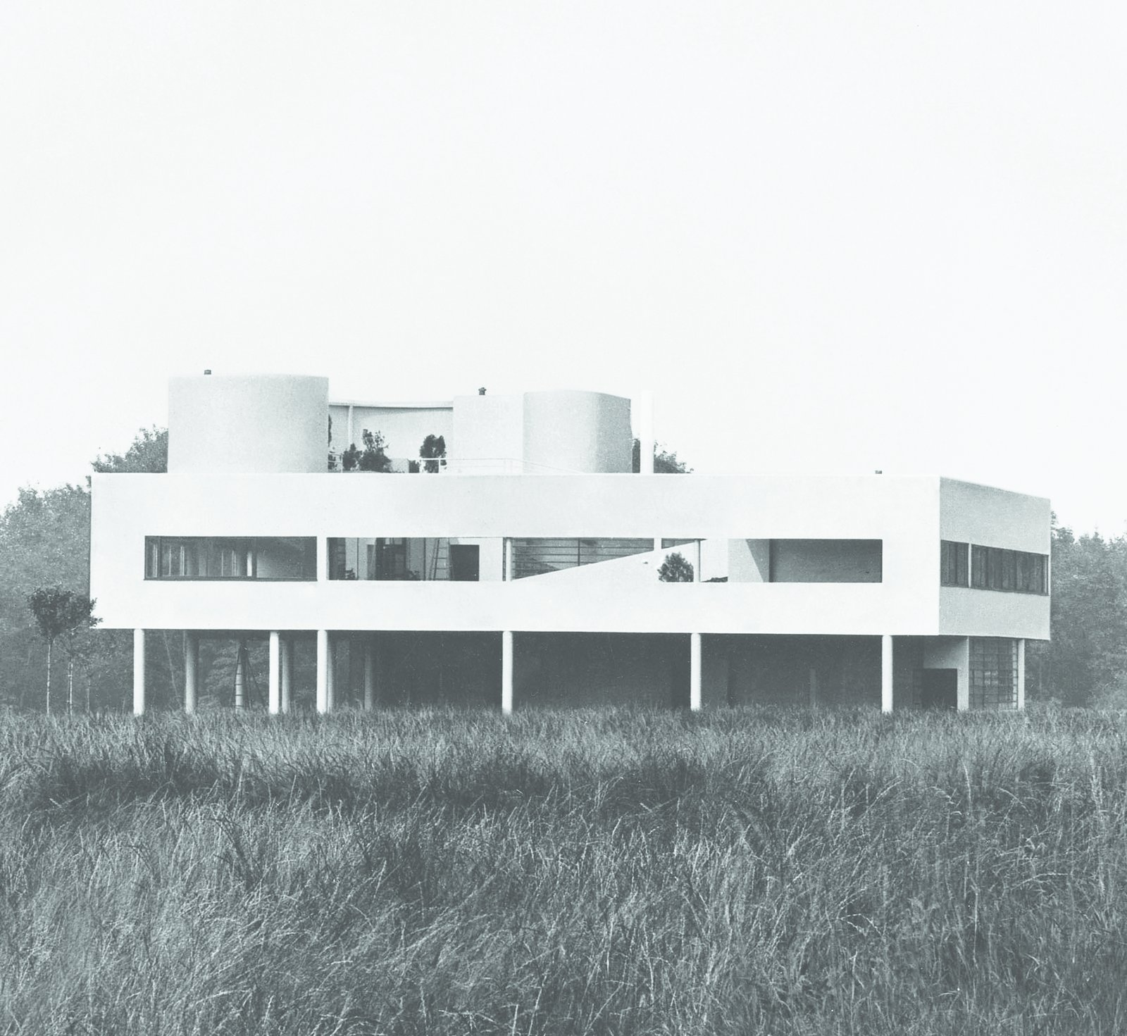 Le Corbusier: Villa Savoye, Poissy, France, 1928-1931  Photo 1 of 11 in Dive Into a Visually Stunning Book That Celebrates Modernist Architecture and its Evolution