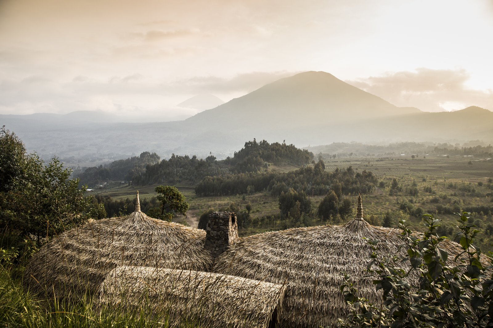 The incredible surrounding countryside  Photo 11 of 11 in Take an Eco-Escape to a Spherical Forest Villa in an Eroded Volcanic Cone in Rwanda