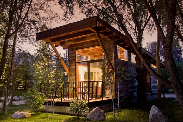 The Wedge tiny home model