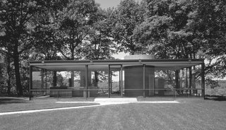 Philip Johnson: Glass House in New Canaan, Connecticut, 1949