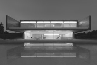 Fran Silvestre Arquitectos: Aluminum House in Madrid, Spain, 2016