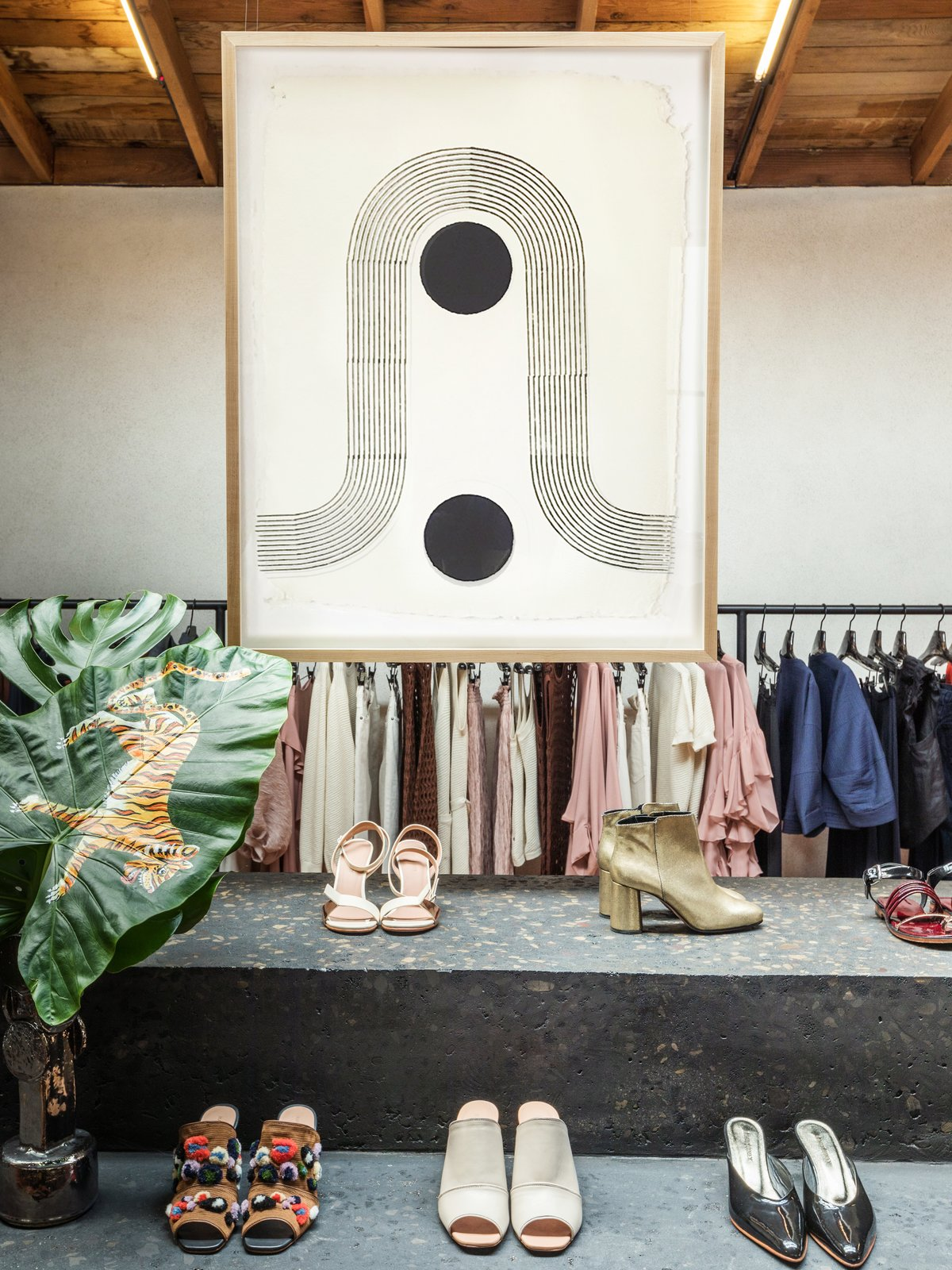 The woodblock prints will be available to purchase on Block Shop's website and at the Rachel Comey boutique throughout the fall season.  Photo 9 of 9 in The Block Shop Sisters Launch Their Framed Woodblock Prints at Rachel Comey's L.A. Boutique