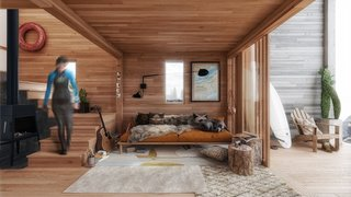 Surf Shack interiors