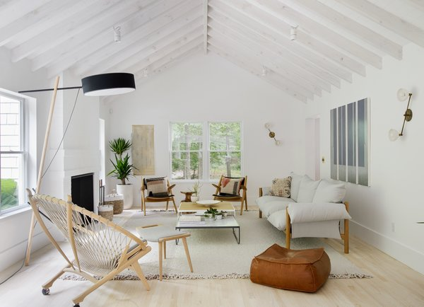 Taking cues from their style-conscious clients, Jessica Helgerson Interior Design transformed an Amagansett home into a light-filled, Scandinavian-inspired getaway.