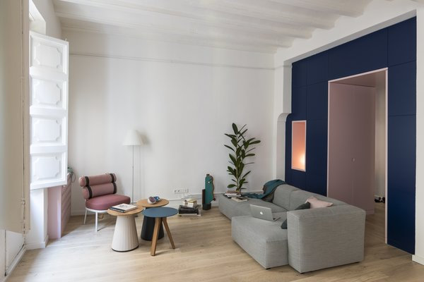 Before & After: An Ancient Barcelona Apartment Gets a Colorful, Chic Makeover