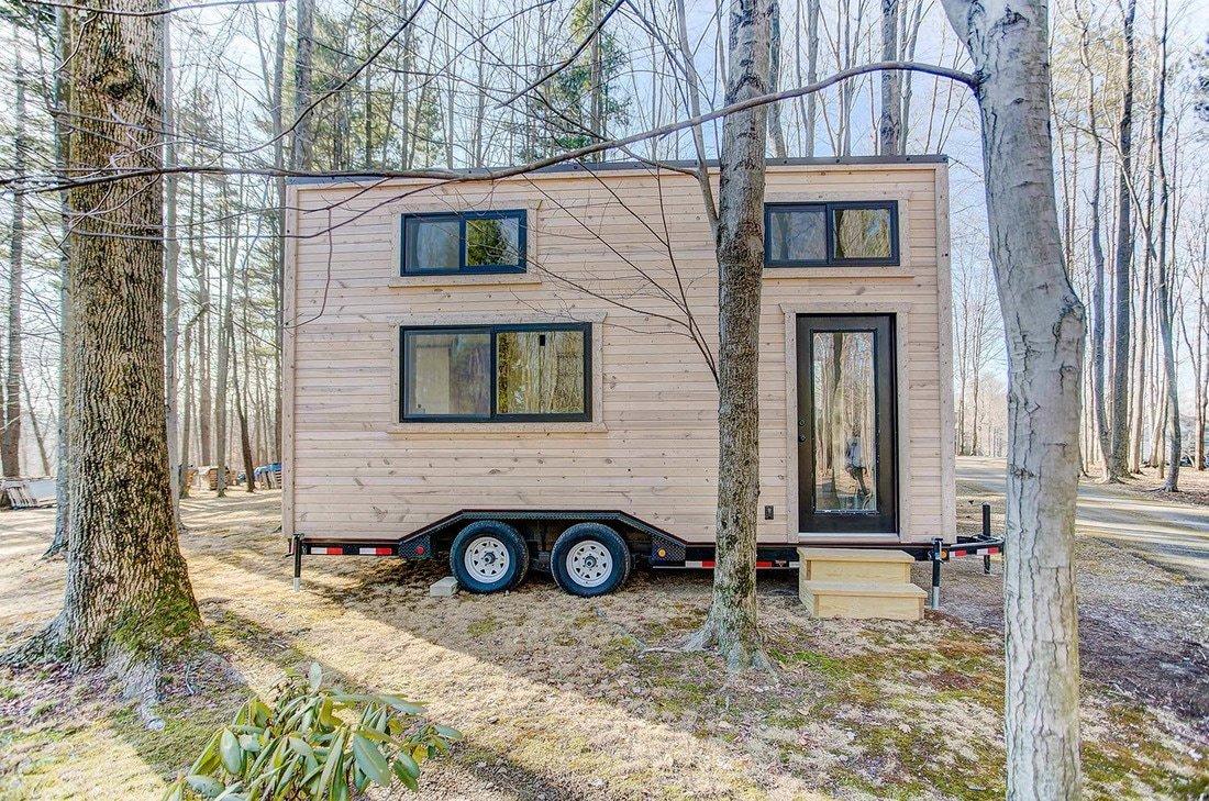 best tiny house companies wood exterior