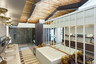 The stunning master bath.
