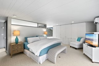 The first floor has four bedrooms plus a master suite and newly renovated bathrooms.