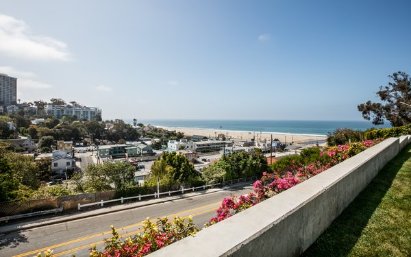 The property enjoys unobstructed ocean views.