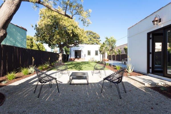 Another distinct backyard nook.