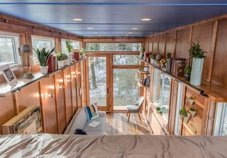 """One great thing about tiny homes is that you can do all the details,"" explains Latimer."