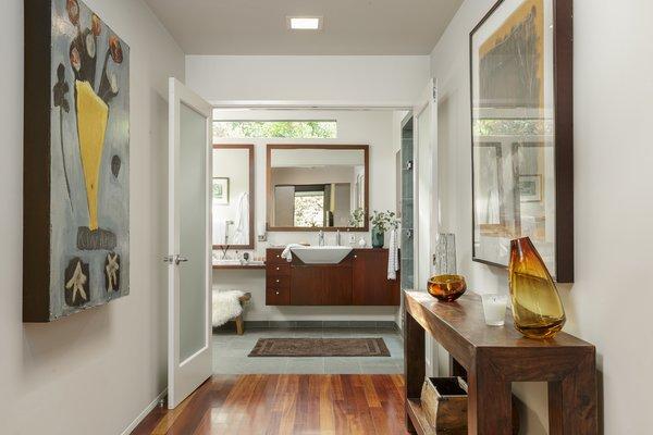 The master bath suite.