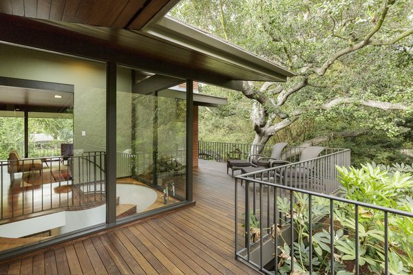 The wraparound deck enhances the homes' indoor/outdoor lifestyle.